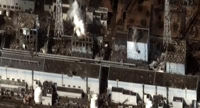 Read more about the article Neues Spektakuläres Satellitenbild vom Atomkraftwerk Fukushima Daiichi mit allen beschädtigten Reaktoren 1, 2, 3 und 4