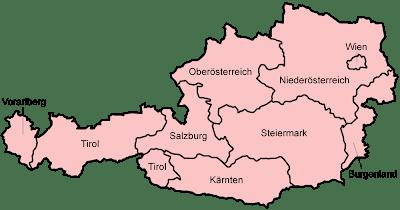 Read more about the article Verwaltungskarte von Österreich