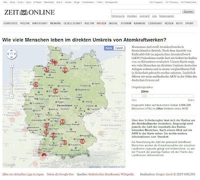 Read more about the article Deutschlandkarte der Atomkraftwerke zeigt wie viele Menschen und wo im Umkreis von 5, 20, 30 bis maximal 80 Kilometer von Atomkraftwerken leben