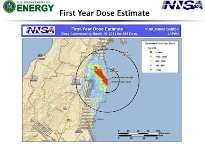 Read more about the article Die Landkarte der Radioaktivität um Fukushima Daiichi