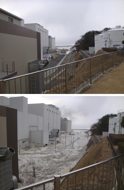 Read more about the article Fotos und Video vom Atomkraftwerk Fukushima, als der Tsuami das Kraftwerk überschwemmte