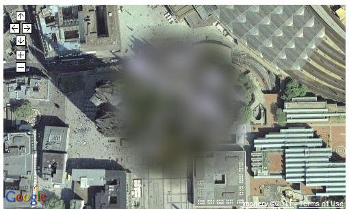 Read more about the article Auf einer Google Map Gebäude und Bereiche verpixeln oder auslöschen