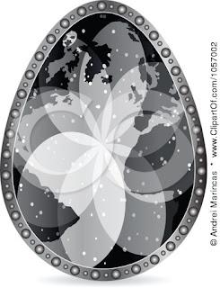Read more about the article Die Kunst eine Landkarte auf ein Osterei zu bringen