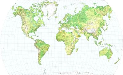 Read more about the article Kostenlose Reliefkarte der Welt zum Download