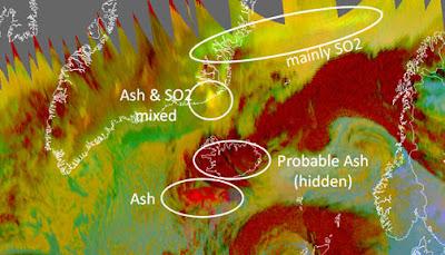 Read more about the article Aktuelle Karten und Satellitenbilder der Aschewolke des Grimsvötn, die Richtung Europa zieht