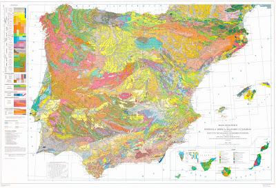 Read more about the article Geologische Landkarte von Spanien ud Portugal