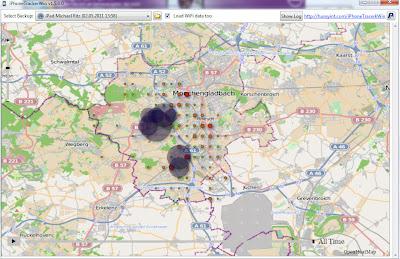 Read more about the article IPhone Tracker läuft auch für das iPad und zeigt ungefähr wo man überall gewesen ist (Windows / Mac OS)