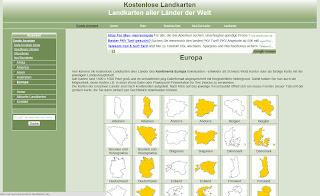 Read more about the article Für Word und PowerPoint ideal! Kostenlose einfache Landkarten zum bearbeiten und weiterverwenden
