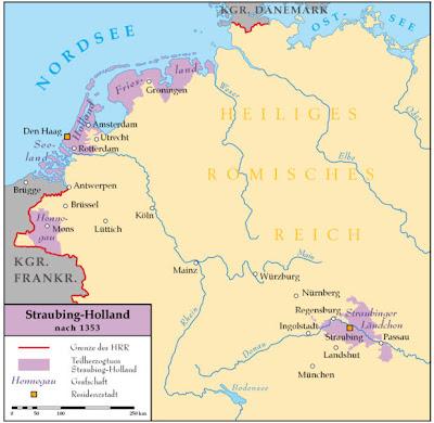 Read more about the article Landkarte von Straubing-Holland – Als Straubing in Bayern und Holland noch vereint waren