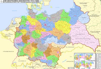 Read more about the article Verwaltungskarte des Deutschen Reichs 1944