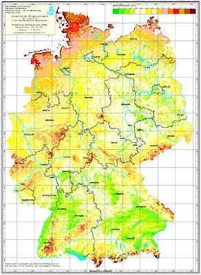 Read more about the article Deutschlandkarte zeigt wo sich große oder kleine Windkraftwerke in Deutschland lohnen