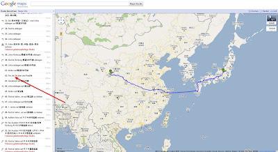Read more about the article Der Weg ist das Ziel, egal wie und womit, dachte sich Google Maps