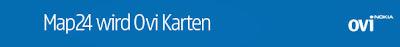 Read more about the article Map24 ist bald Geschichte! OVI von Nokia ersetzt es!