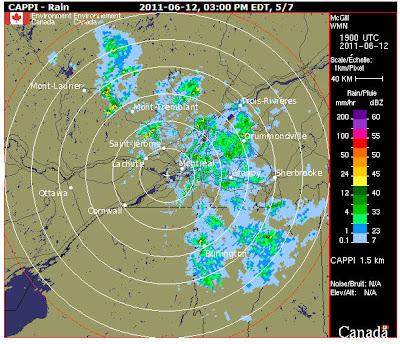 Read more about the article Formel 1 – Regen in Montreal – Das Wetterradar zeigt, es wird wieder besser über Montreal!