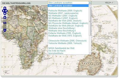 Read more about the article NEU: Die Weltkartensammlung des Landkarten und Stadtplan Index