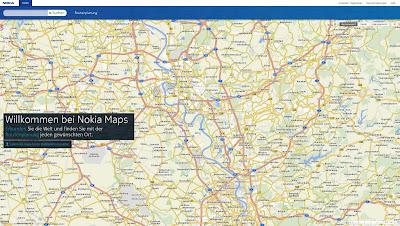 Read more about the article Nokia Maps ersetzt OVI Karten