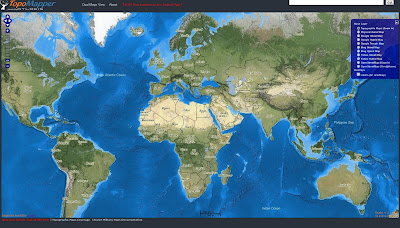 Read more about the article NEU! Topomapper – Eine interaktive topographische Weltkartensammlung im Maßstab 1:100.000 – 1:500.000 – Online und kostenlos!