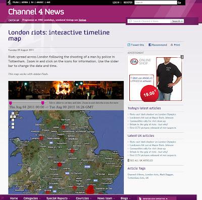 Read more about the article Landkarte von Channel 4 zeigt Zeitlinie der Unruhen in Großbritannien