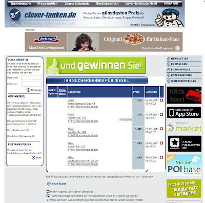 Read more about the article clever-tanken – Aktuelle Spritkosten in Deutschland