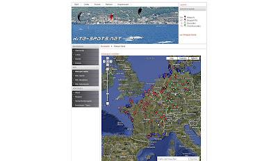 Read more about the article Kite-Spots.net – Wo ist Wind für ihr Kite