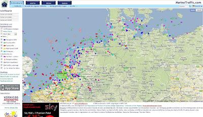 Read more about the article MarineTraffic.com – LIVE! Der Schiffverkehr auf den Weltmeeren