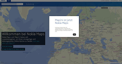 Read more about the article Map24 ist offline!