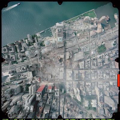 Read more about the article Der 11. September 2001 in Luftbildern und Satellitenaufnahmen