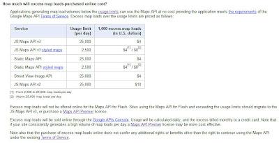 Read more about the article SKANDAL UND ABZOCKE! Google Maps API wird ab 2012 kostenpflichtig. Für gerade mal 1.000 Einblendungen zahlt der API-Nutzer 2,83 EUR bis 7,06 EUR