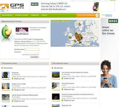 Read more about the article GPS Tour – Wander-, Rad- und Klettertouren für Mitteleuropa