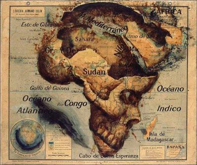Read more about the article Libreria Armand Colin – Eine wahrlich gespenstrige Afrikakarte