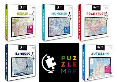 Read more about the article NEU: Puzzlemap bietet Berlin, Hamburg, München und Frankfurt in 500 Puzzleteilen an
