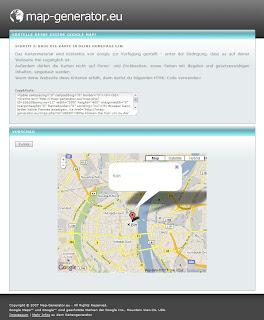 Read more about the article map-generator.eu – Schnell mal eine Landkarte für die Homepage basteln