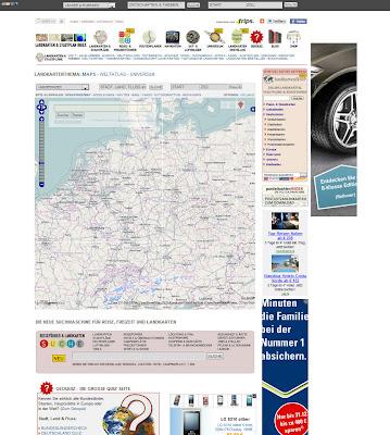 Read more about the article Großes Update des Landkarten und Stadtplan Index