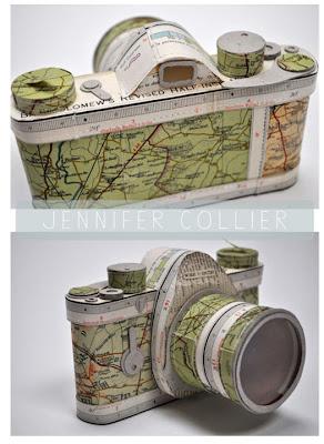 Read more about the article Landkartenkunstwerk Fotokamera