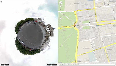 Read more about the article Google Streetview in Stereographic