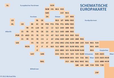 """Read more about the article Entdecke und kontrolliere die neue """"Schematische Europakarte"""""""