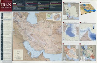 Read more about the article Landkartensammlung des CIA über den Iran von 2009