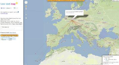 Read more about the article Low Coast Map hilft weltweit Billigflieger und deren Verbindungen zu finden