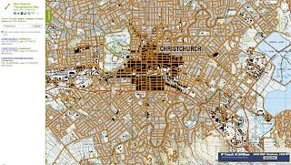 Read more about the article Online – Topographische Landkarte von Neuseeland im Maßstab 1:50.000 und 1:250.000