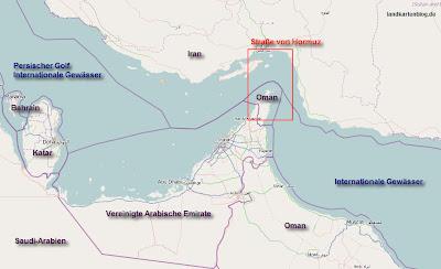 Read more about the article Interessant! Der Iran darf legal mit einer Blockade der Straße von Hormuz drohen