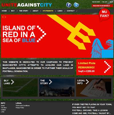 Read more about the article Eine rotes Grundstück im blauen Meer in Manchester