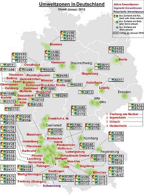 Read more about the article Routenplaner TEST (3): Umweltzonen in Deutschland? Kein Routenplaner verarbeitet sie und nur der Stadtplandienst kennt diese Zonen überhaupt