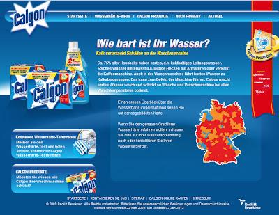 Read more about the article Calgon zeigt fragwürdige Deutschlandkarte der Wasserhärte in seiner Fernsehwerbung