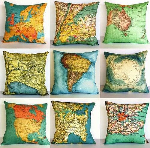 Read more about the article Jeden Tag sanft einschlafen. Die Idee. Landkarten auf Kissen drucken.