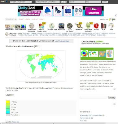 Read more about the article NEU: Das Landkartenlexikon des Landkarten und Stadtplan Index ist gestartet