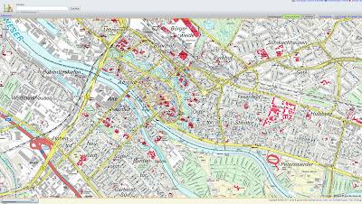 Read more about the article maps,bremen.de – Kostenlose amtliche Stadtkarte mit Suchfunktion und eigenen Luftbildern