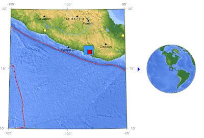 Read more about the article LIVE: Sehr starkes Erdbeben erschüttert die Mexikanische Küste vor Acapulco. Es gab kein Tsunami!