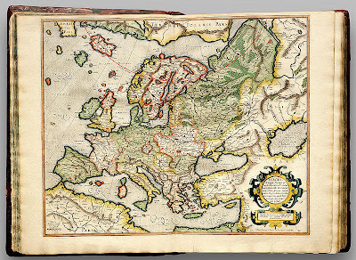 """Read more about the article Online: Mercator-Atlas """"Atlas Cosmographicae"""" (1596)"""