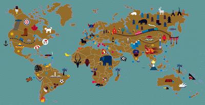 Read more about the article Entdecke die Erde auf einer Kinderweltkarte