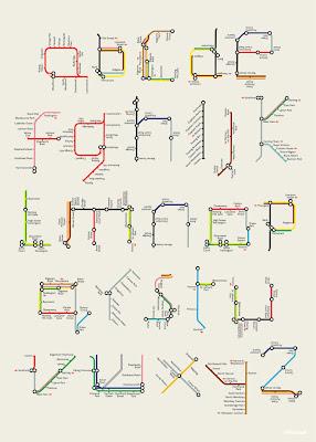 Read more about the article Tim Fishlock – Das Alphabet der Londoner U-Bahn